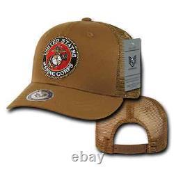 1 Dozen Army Air Force Navy Marines Police Security Trucker Hats Hat Cap Caps