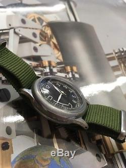 1940s 1950s Bulova Pilot Watch type A11 10AK U S ARMY AIR FORCE UASAFF