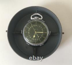 1943 HAMILTON WW2 US ARMY Air Force Military 4992B Pocket Watch 22 Jewels + Case