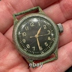 1944 Bulova Military A-11 AF US ARMY AF44 AIR FORCE WWll ALL ORIGINAL Working We