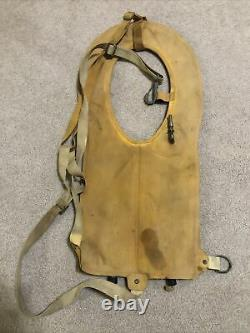 1944 US Army Air Force Type B4 WWII Pilot Mae West Life Preserver PARATROOPER