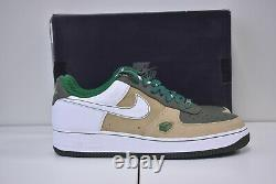 2007 Nike Air Force 1 Premium 07 Rare Vintage Baltimore Hay 315180-211 US 12.5