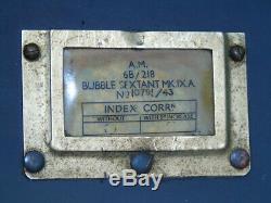 43 Am 6b/218 Bubble Sextant Mark Mk IX A Ww2 Wwii Raf Aviation Air Force Army