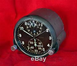 Achs-1m Soviet Aircraft Military Clock Mig Russian Ussr Army Chronograph