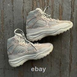 Adidas Yeezy Desert Boot Salt Grey FV5677 Size 8 YZY DSRT BT Mens