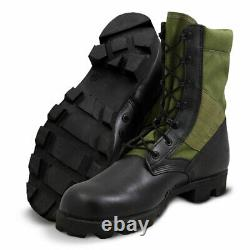 Altama Jungle Boots Panama Sole PX 10.5 Olive Drab Leather Vietnam Era 315506