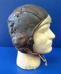 Army Air Corps 8th Air Forces Type B-6 High Altitude Helmet
