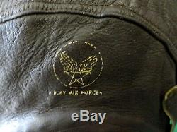 Army Air Forces A-11 Leather Flying Helmet- Large Size