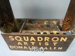 Army Air Forces Squadron Artists Painter Box
