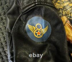 Army Air Forces Type A-2 Jacket Painted 91st Bombardment