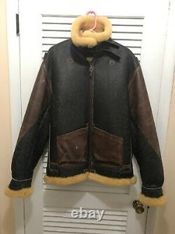 Authentic/Vintage Alpha U. S. Army Air Force Type B-3 Bomber Jacket