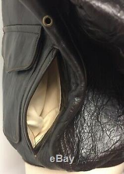 Avirex Type A-2 # 30-1415 Contract No 1978-01 Us Army Air Forces Leather Bomber