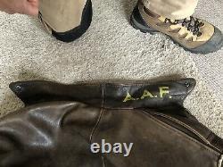 Avirex leather jacket flight jacket flying jacket army airforce