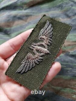 BEAUTIFUL WWII US Army Air Corps Air Force Bullion Bomber Wings Patch