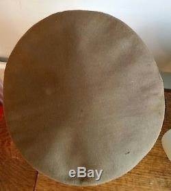 Brilliant WW2 USA USAAF Army Air force Officers Crusher Cap Large Size Original