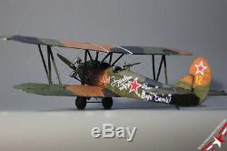 Built 1/32 Polikarpov PO-2, Red Army air force, 588th NLBAP, 1942(ready to ship)