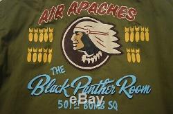 Buzz Rickson's Air Apaches B-15 US Army Air Forces Flight Jacket Size Men's 42