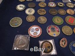 Challenge Coin lot 43pc army navy air force american legion CFD general comander