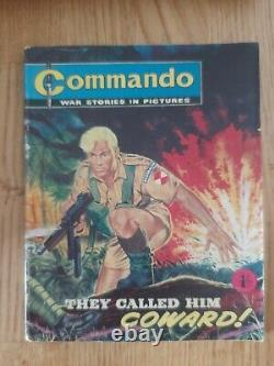 Commando #2 They Call Him Coward! Issued June 1961