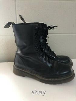 Dr Martens 1490 10 Eye Lace Up Boots Docs Martins US Size Womens 9 Mens 8