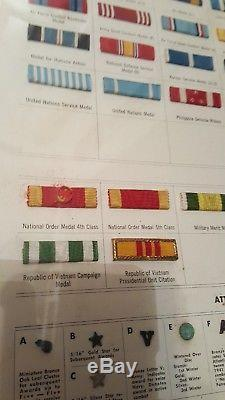 EXTREMELY RARE Army, Marines, Navy, Coast Guard, Air Force, (105) Service Ribbon Bars
