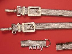 East German DDR Air Force / Army OFFICER DAGGER Set w Hangers & Box East Germany