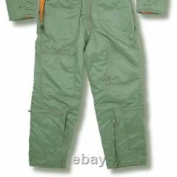 Flying Suit Flight Pilot Continental Aviator Air Force Army Padded Zip Coverall