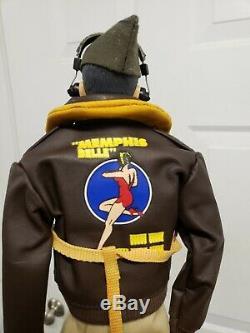 GI Joe Two WW2 Army Air Forces Coswald figure with Joe club made uniform