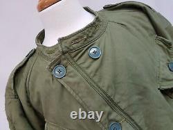 Genuine Vintage 1950s British Army Cold Weather Olive Middle Parka Jacket Size 3