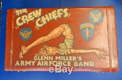 Glenn Millers Army Air Forces Band Hand Painted Luggage