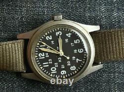 HAMILTON H3 US Army Military Pilot Air Force AF MIL-W-46374B April 1982 RUNS