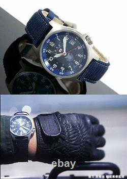 KENTEX JASDF Japan Air Self Defense Force Military Army Blue Wristwatch NEW
