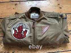 L2 Flight Jacket, 504th Parachute Infantry Regiment L-2 Army Air forces AAF