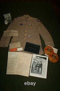 Large Original WW2 Identified U. S. Army Air Forces Pilot's Uniform Grouping Lot