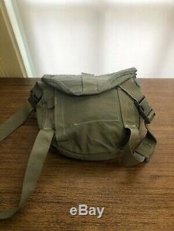 M50 Genuine Military Issue Gas Mask Army Air Force. Size Small. Used