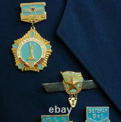 M69 Sz 50-3 Soviet OFFICERS parade uniform veteran pilot Air Force Soviet Army