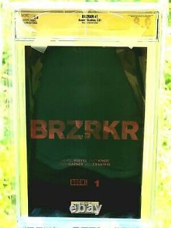 MAKE AN OFFER BRZRKR #1 CGC 9.8 Signature Series By Keanu Reeves Autograph