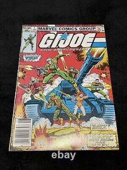 Marvel GI Joe #1 Newsstand 1982 First Cobra & GI Joe