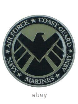 Marvels Avengers 2012 Military Coin Army Navy Air Force Coast Guard Marines Rare