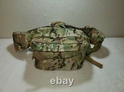 Military OCP Combat Casualty Bag with Medical First Aid Supplies ARMY AIRFORCE