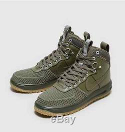 NEW NIKE LUNAR AIR FORCE LF1 DuckBoot Medium Olive Gum DUCK BOOT ARMY GREEN