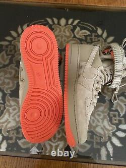 NEW Nike Special Field Air Force 1 One SF High Shoes Khaki 864024-205 Mens 10
