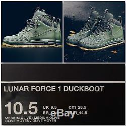 NIKE LUNAR AIR FORCE LF1 DuckBoot 10.5 Army Green