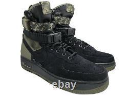 NIKE SF AF1 AIR FORCE 1 SPECIAL FIELD BLACK OLIVE DIGI CAMO 864024-004 sz 10.5