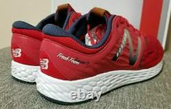 New Balance Fresh Foam Zante V3 Boston Marathon Red Sox Shoes Blue Men 10 12.5