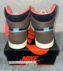 New Nike Air Jordan 1 High OG Tokyo Bio Hack 555088 201 FREE SHIPPING
