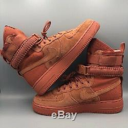 New Nike SF Air Force 1 Dusty Peach Men's Size 8.5 Special Field 864024 204 $180