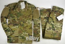 New US Army Air Force OCP Uniform Coat and Trouser Large Regular USGI
