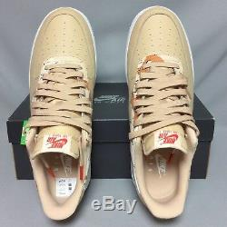 Nike Air Force 1'07 LV8 UK11 823511-202 Camo EUR46 US12 Camouflage sand army 07