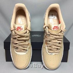 Nike Air Force 1'07 LV8 UK9 823511-202 Camo EUR44 US10 Camouflage Beige army 07